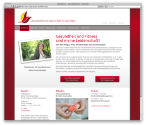 "<a href='http://www.antje-bartens.de' target='_blank'>www.antje-bartens.de</a><br />Antje Bartens, Gesundheitscoach<br />Gemeinschaftsproduktion mit Karl Serwotka von <a href=""http://www.promedia-design.de"" target=""_blank"">www.promedia-design.de</a><br />Redesign September 2014, Erstversion August 2007 - Technologie: netissimoCMS responsive<br/>  (9/142)"